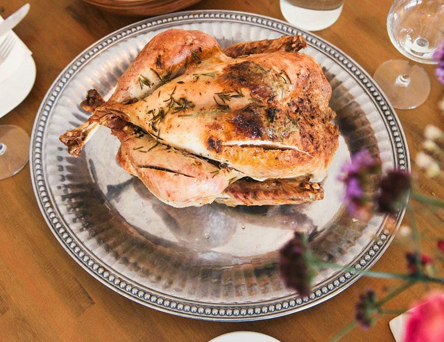 Roast Squab Provençal