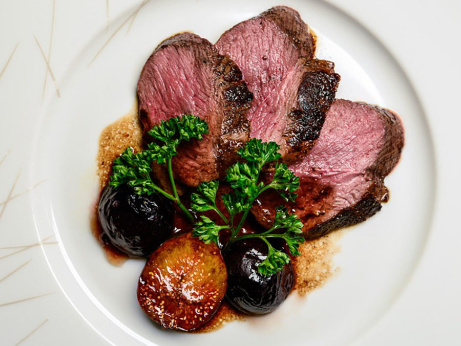 Filet of Duck Breast with Figs